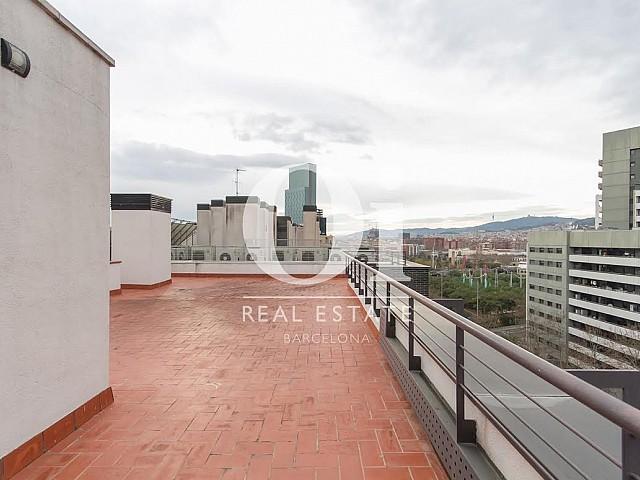 Terrado de piso en venta en Diagonal Mar, Barcelona