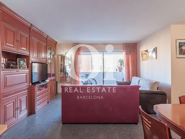 Sala de estar de piso en venta en zona Diagonal Mar, Barcelona