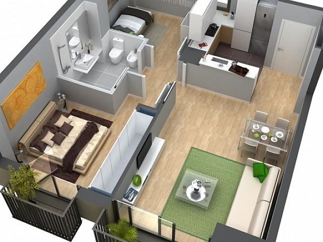 Новая квартира в Сан-Мартин, Барселона.