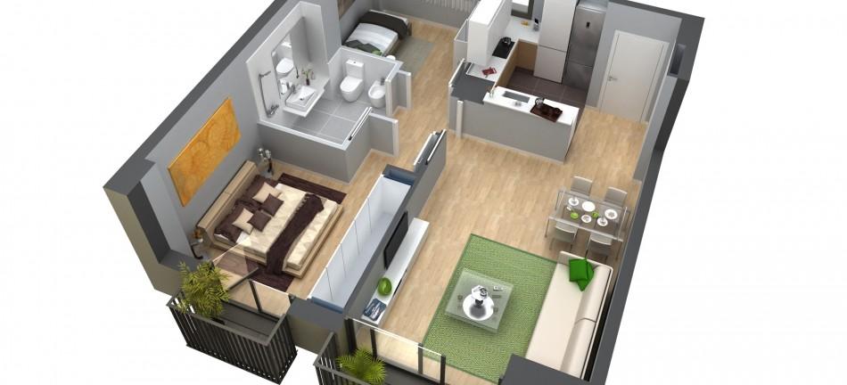Новая квартира в Сан-Мартин, Барселона