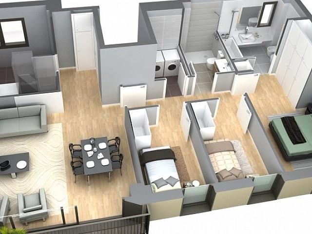 Neue Wohnung zum Verkauf in San Martin, Barcelona.