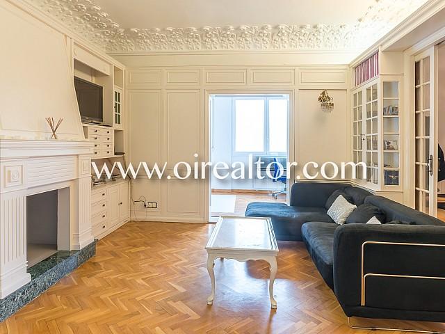 Gran y espectacular piso en venta en una finca regia en la zona de Gracia, Barcelona