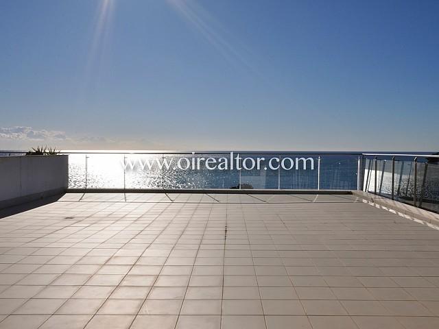 Espectacular piso con impresionantes vistas al mar y gran terraza en venta en Sant Andreu de Llavaneres