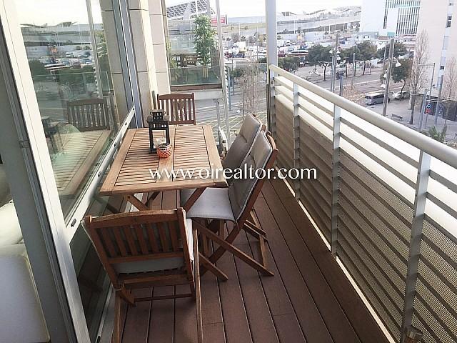 Estupendo apartamento en venta en Diagonal Mar, Barcelona
