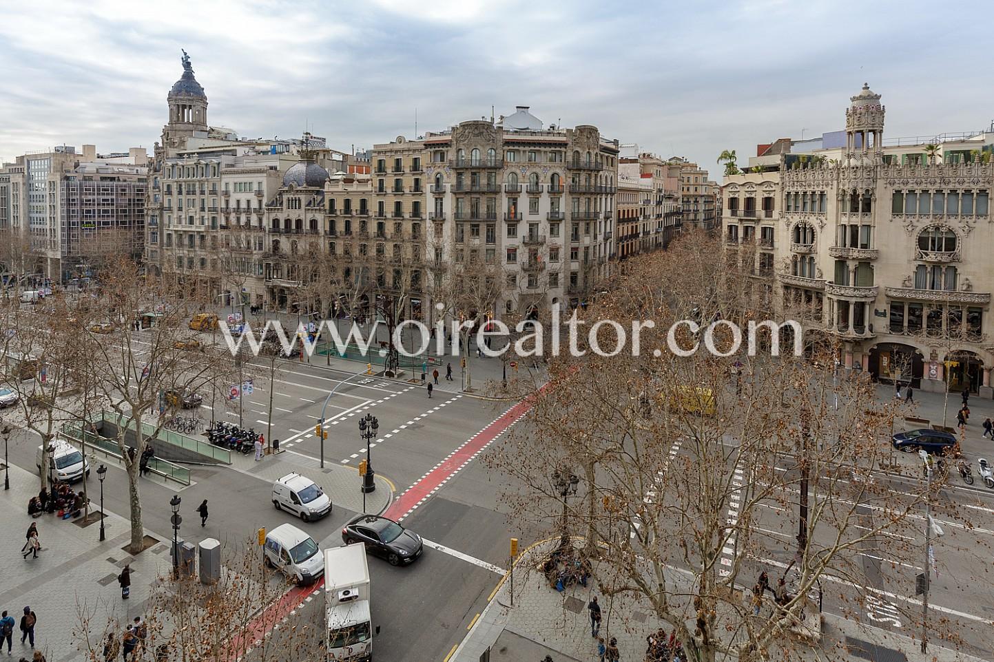 Luminoso piso en alquiler en pleno paseo de gracia - Pisos en alquiler barcelona capital ...
