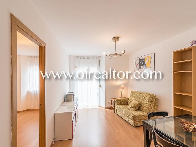 在巴塞罗那市中心经过翻新的公寓销售机会