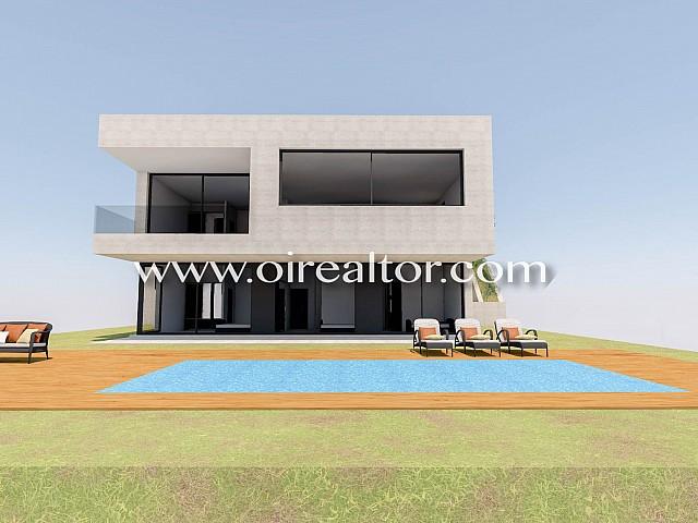 Proyecto de alto standing de villa con un diseño moderno en Lloret de Mar, Costa Brava