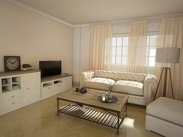 舒适的公寓在巴塞罗那西班牙广场附近出售