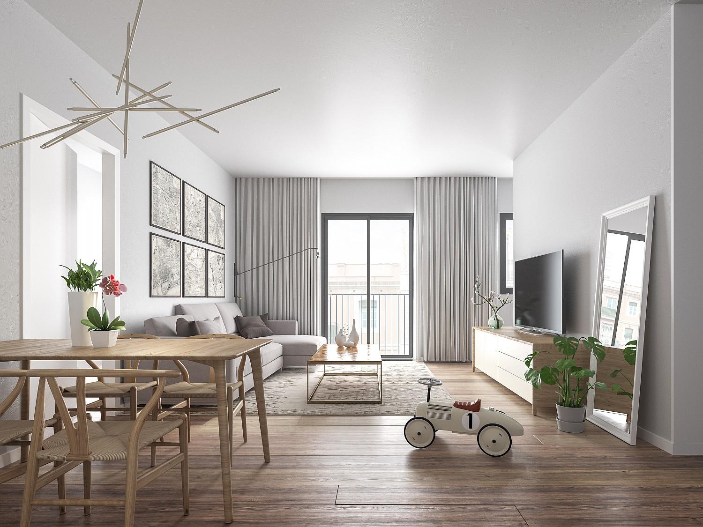 Новый этаж для продажи в центре Руби