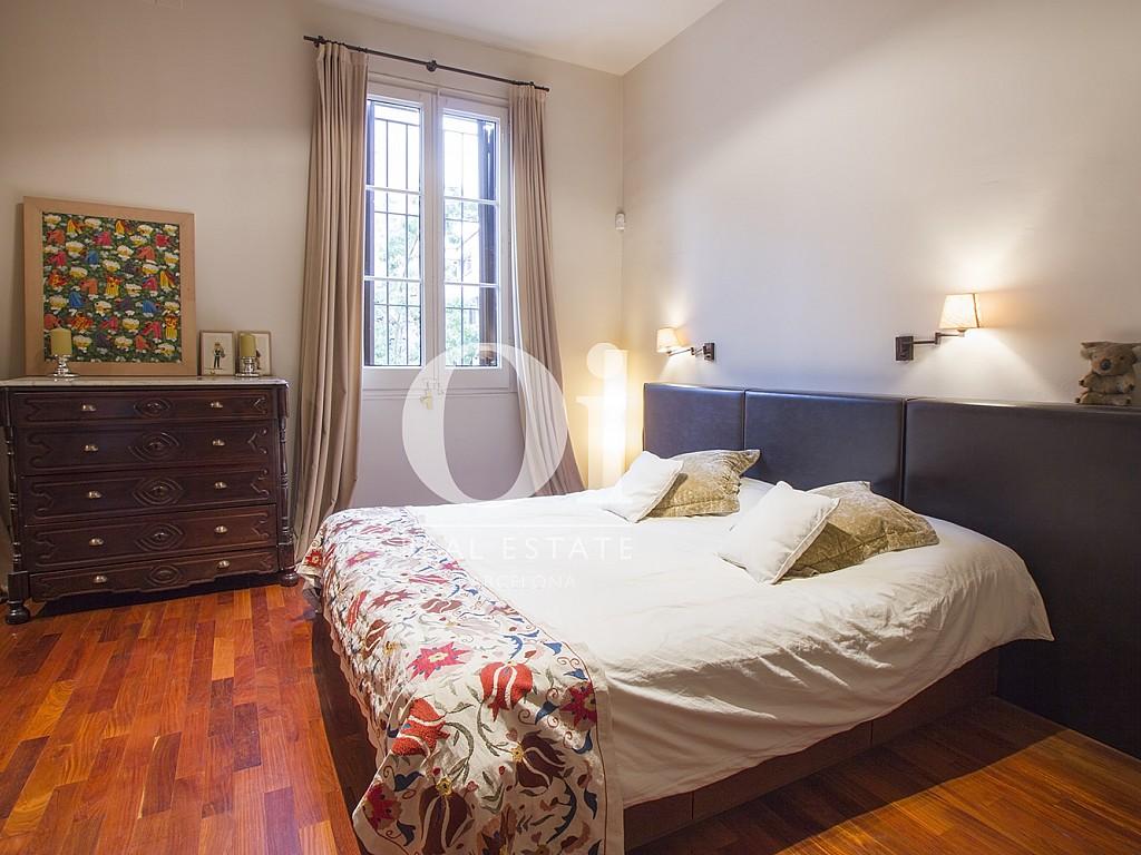 Dormitorio doble de casa en alquiler en zona Sant Gervasi - Les Tres Torres, Barcelona
