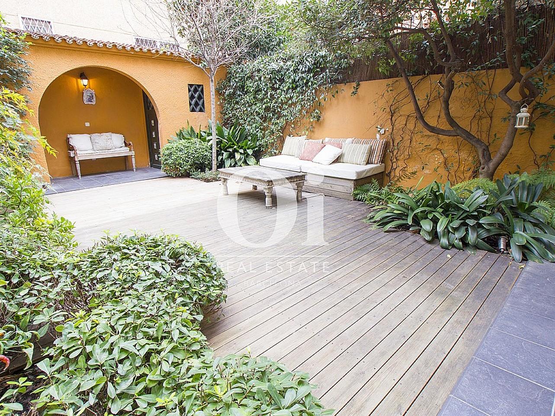 Patio y jardín  de casa en alquiler en Sant Gervasi - Les Tres Torres, Barcelona
