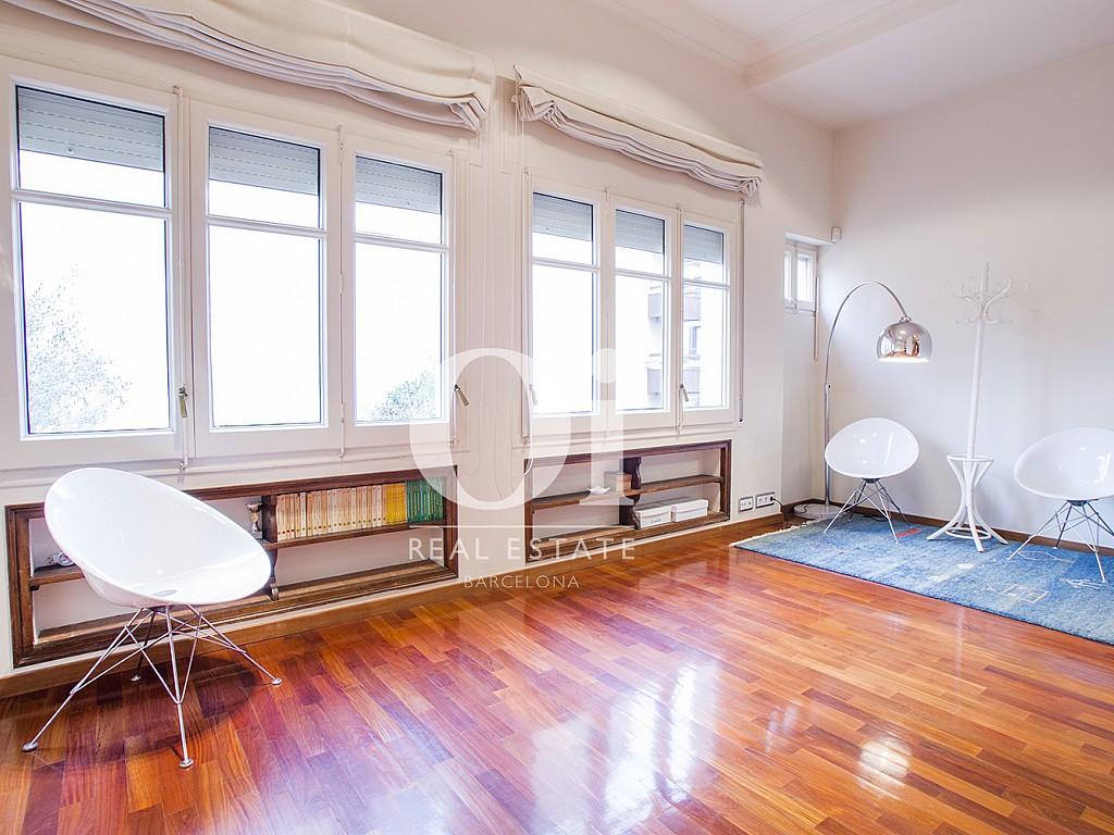 Sala de estar de casa en alquiler en zona Sant Gervasi - Les Tres Torres, Barcelona