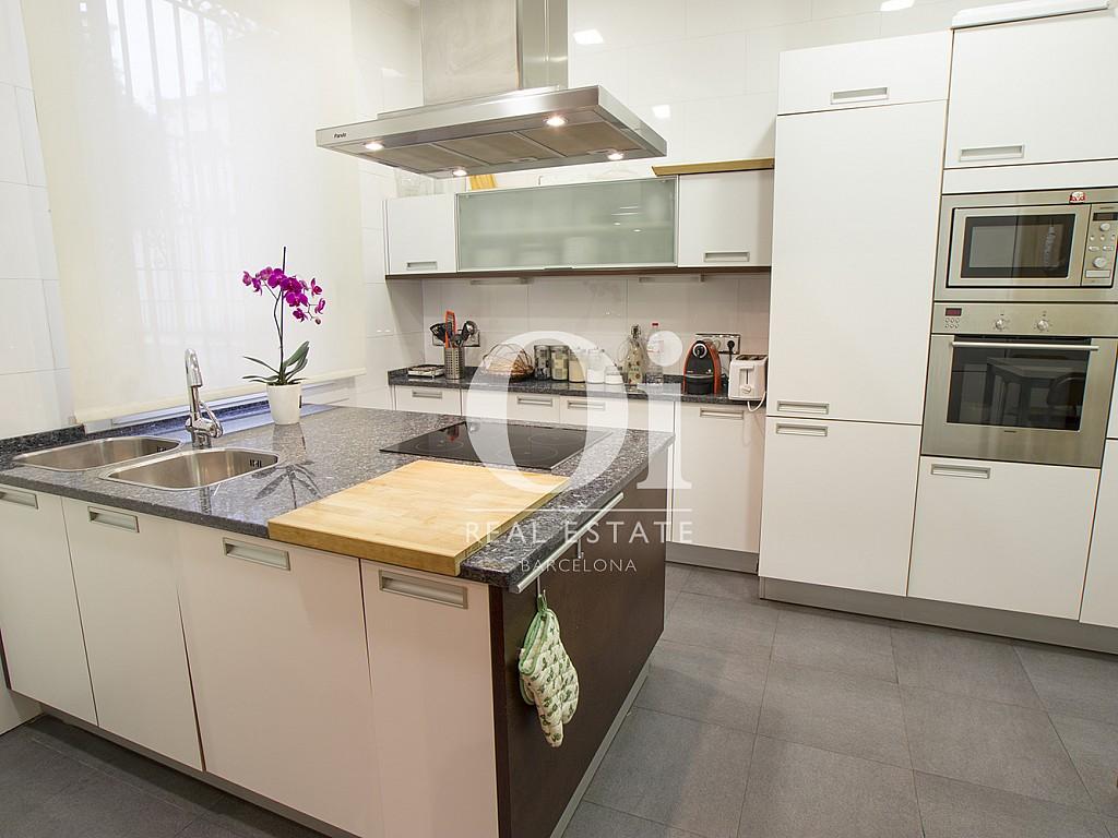 Cocina de casa en alquiler en zona Sant Gervasi - les Tres Torres, Barcelona