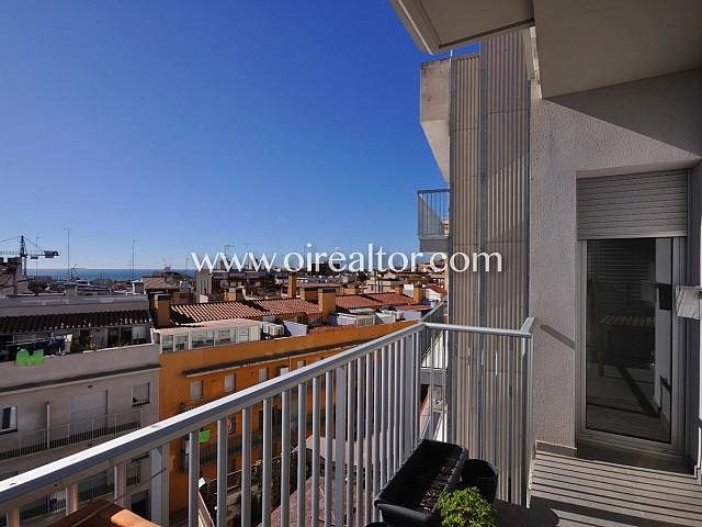 Preciós apartament en venda amb vistes al mar al centre de Mataró