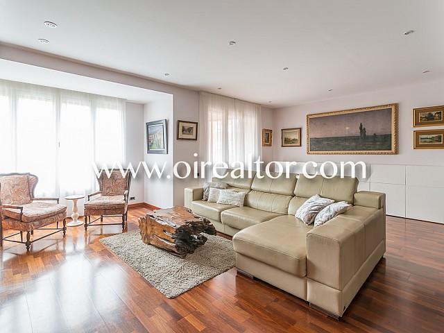 Эксклюзивный внешний вид квартиры для продажи недалеко от Парк-дель-Туро дель Putxet, Барселона