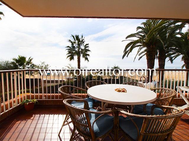 Fantastic exterior apartment for sale in first line in Sant Vicenç de Montalt