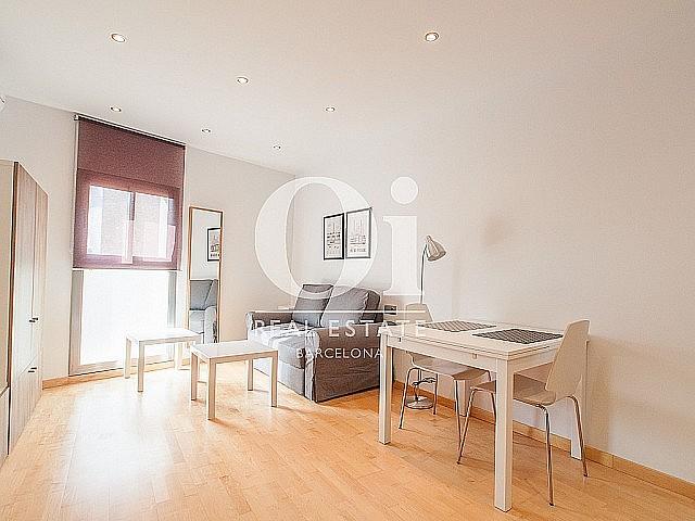 sensacional cocina equipada y americana en lujoso piso en alquiler situado en el raval barcelona (1)