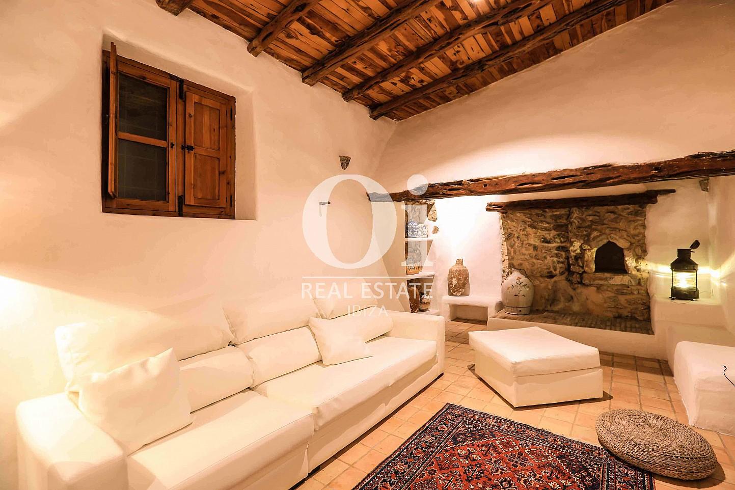 Salón de casa en alquiler vacacional en zona Puig d'en Valls, Ibiza