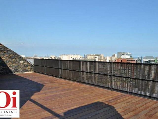 Terrado de piso ático dúplex en Les Tres Torres, Barcelona