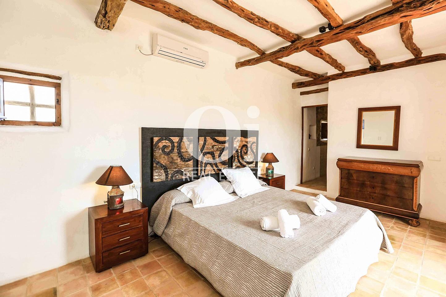 Habitación doble de casa en alquiler vacacional en zona Puig d'en Valls, Ibiza