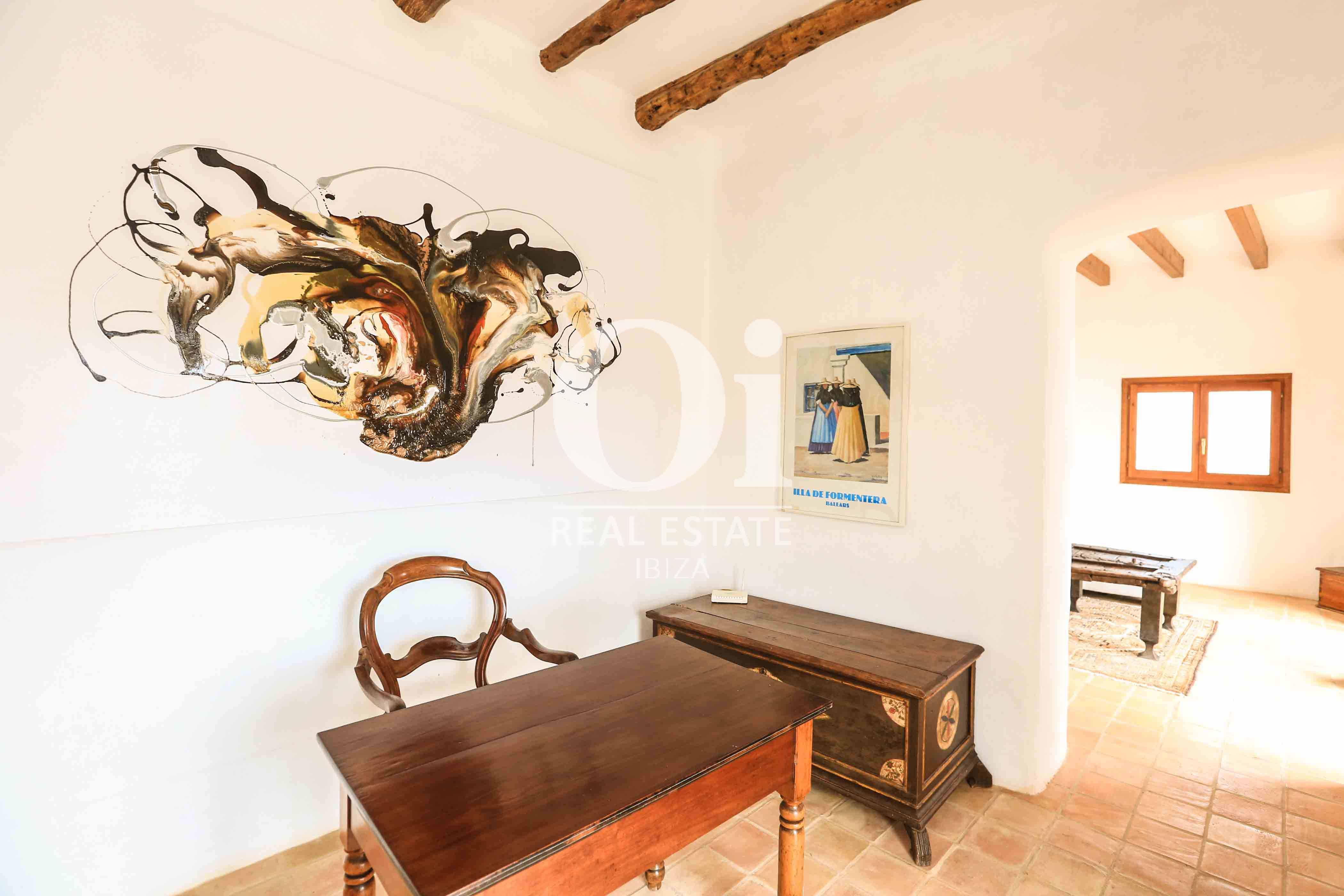 Estudio de casa en alquiler de estancia en zona Puig d'en Valls, Ibiza