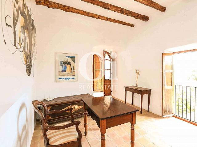 Blick in den Innenbereich der Villa zur Miete Woche, Ibiza