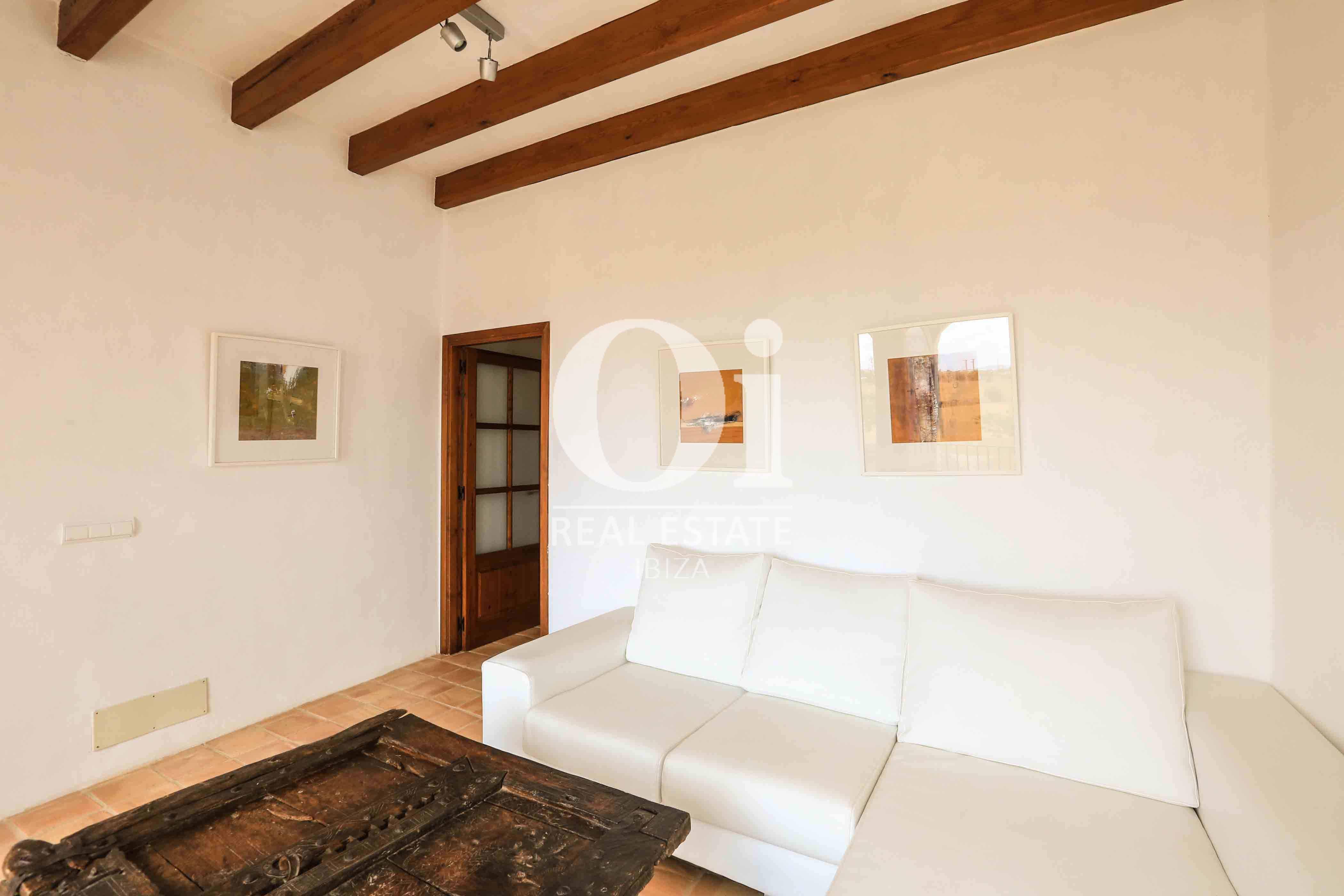 Sala de estar de casa en alquiler de estancia en zona Puig d'en Valls, Ibiza