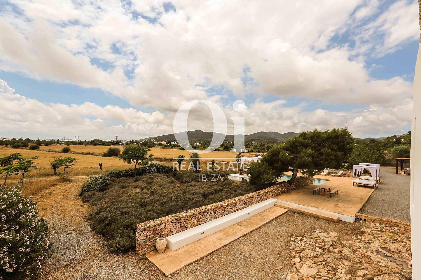 Entorno rural de casa en alquiler de estancia en Puig d'en Valls, Ibiza