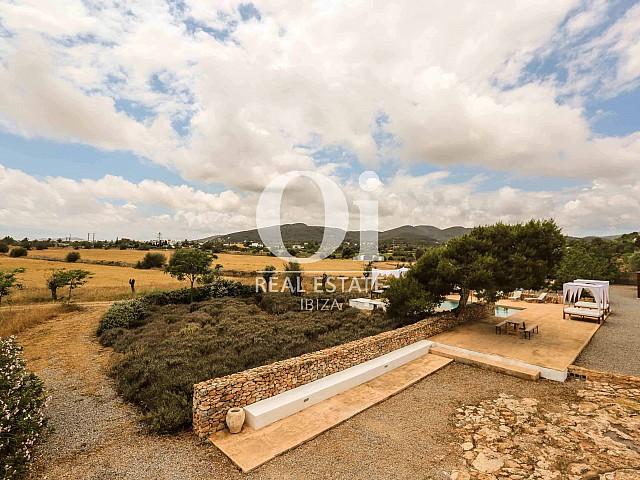 Terrain de villa de séjour à Puig d'en Valls, Ibiza