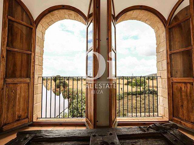 Vues du terrain de villa de séjour à Puig d'en Valls, Ibiza