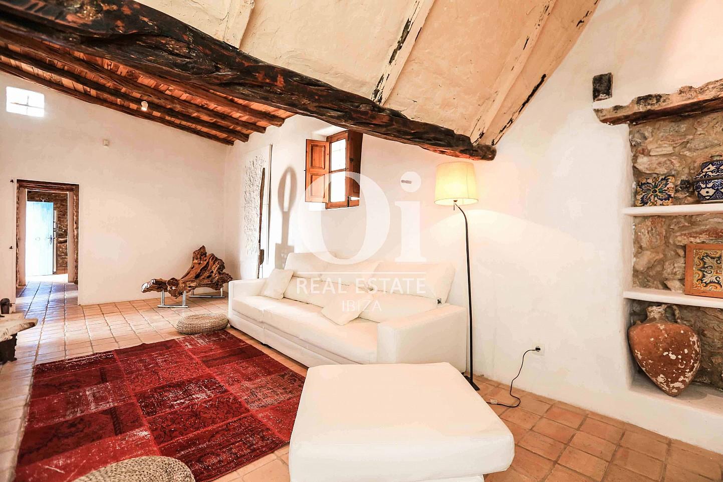 Sala de estar de casa en alquiler vacacional en zona Puig d'en Valls, Ibiza