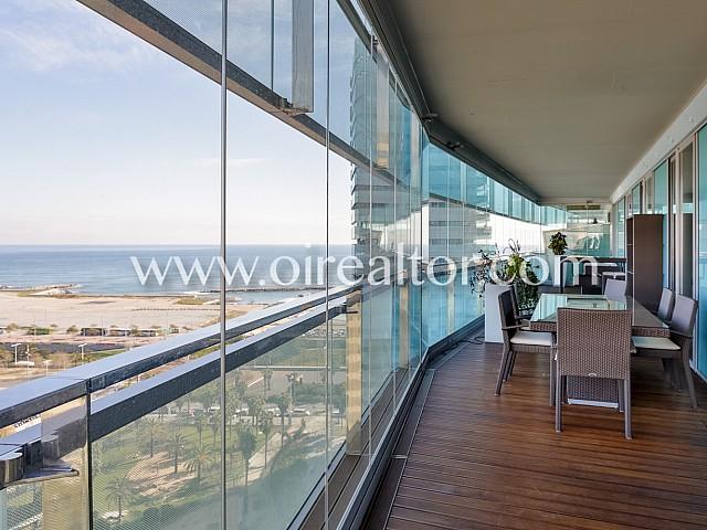 Lujoso piso en alquiler, con inmejorables vistas a Mar en Diagonal Mar, Barcelona