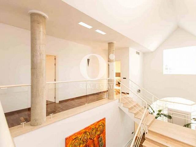 Blick in den Innenbereich der Luxus-Ferien-Villa in Sant Rafael, Ibiza