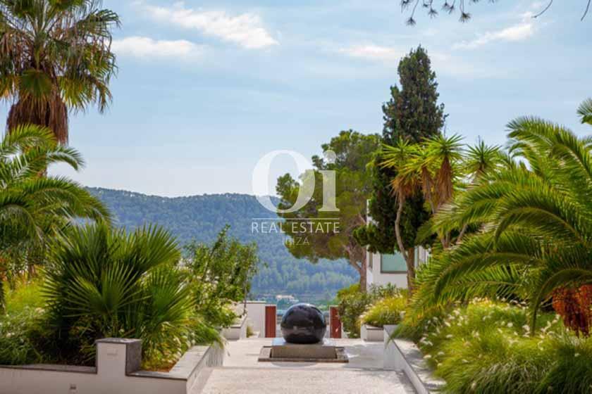 Ausblick von der Ferien-Villa in Sant Josep, Ibiza