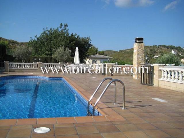 Gran chalet con piscina ubicado entre mar y montaña en Vespella de Gaià