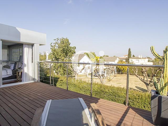 Blick von der Terrasse der Immobilie zum Verkauf in Salou