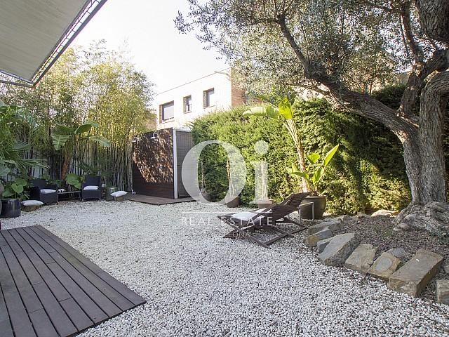 Blick in den Außenbereich der Immobilie zum Verkauf in Salou