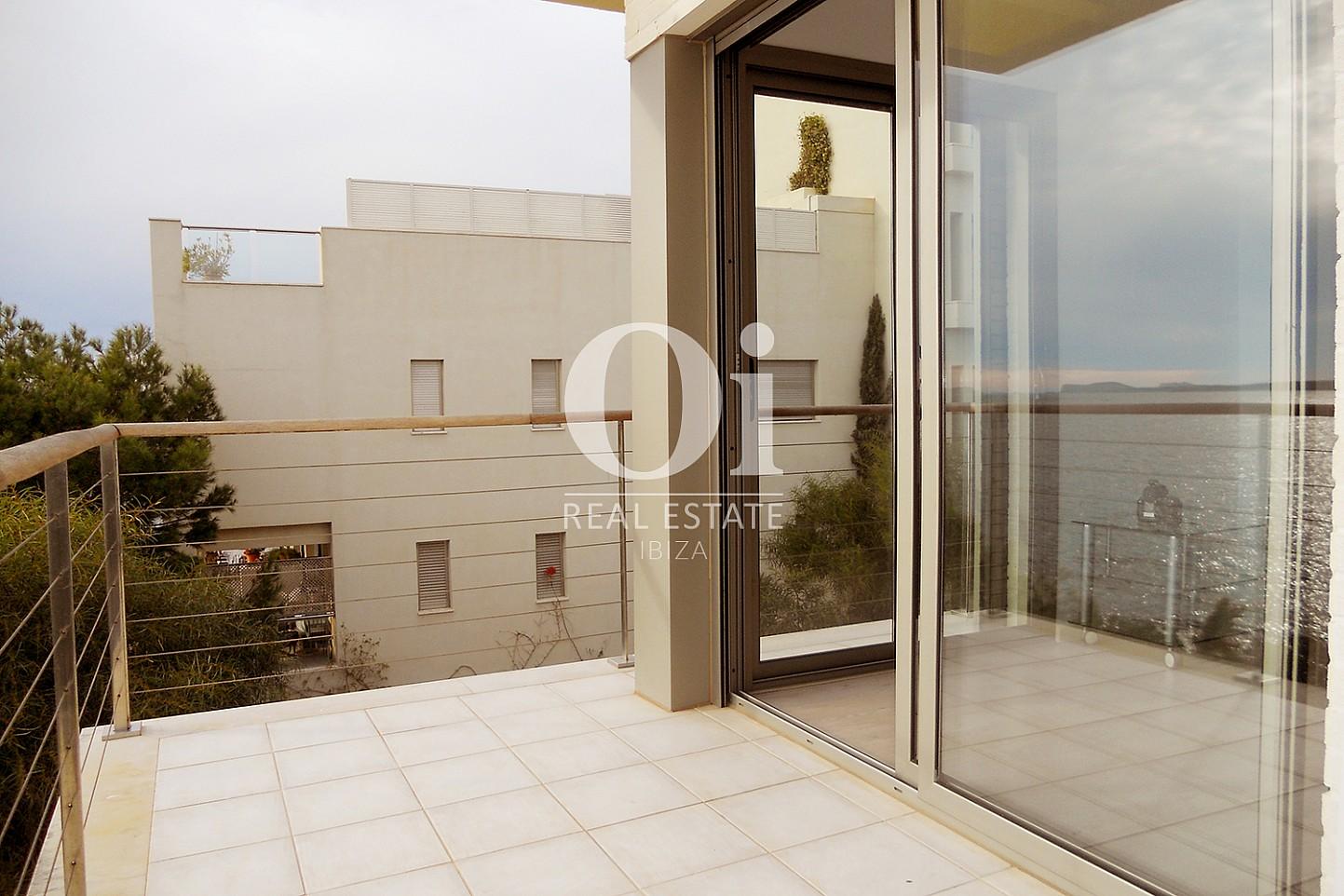 Terraza de piso en venta en Cala Gració, zona de Sant Antoni, Ibiza