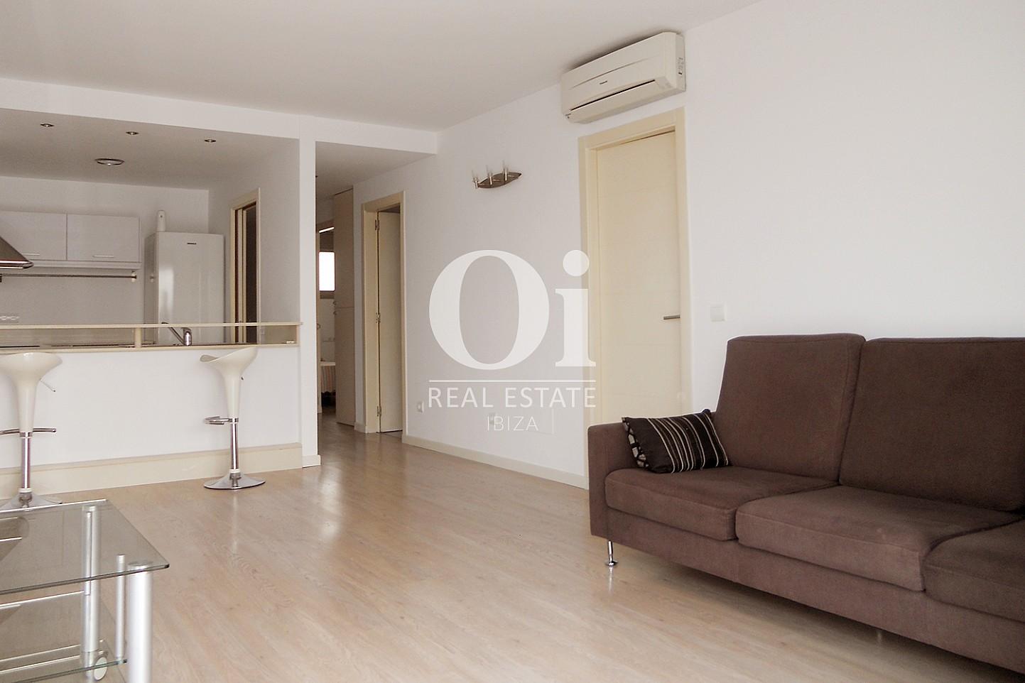 Salle de séjour d'appartement à vendre à Cala Gracio, Ibiza