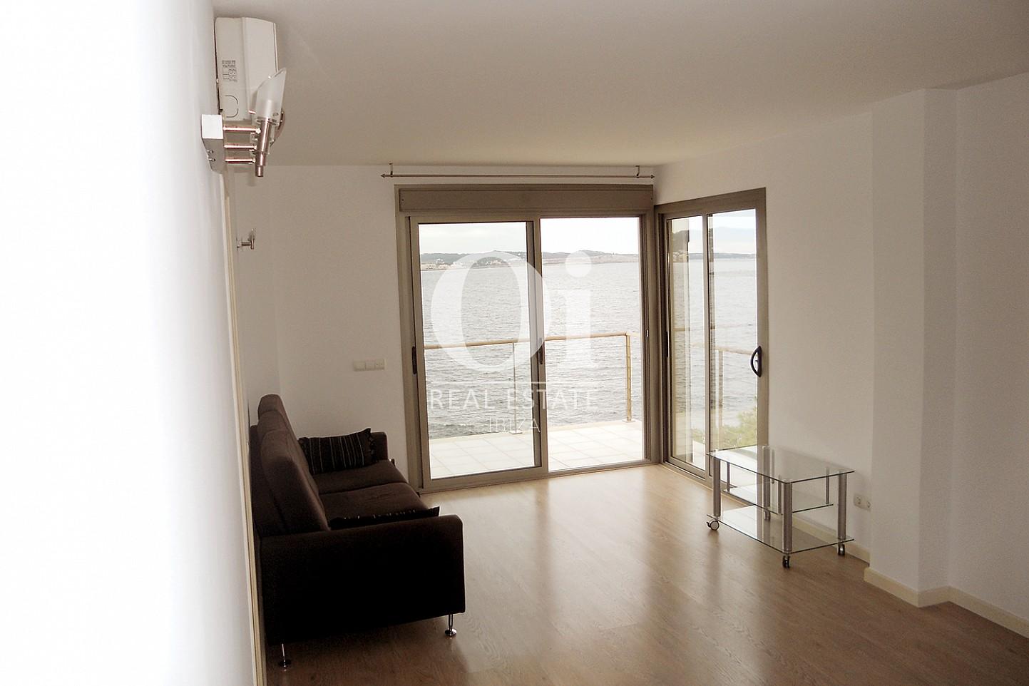 Sala de estar de piso en venta en Cala Gració, zona de Sant Antoni, Ibiza