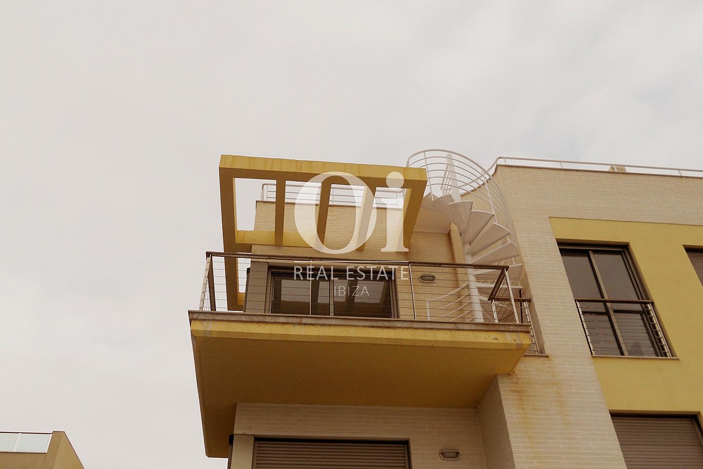 Fachada de piso en venta en Cala Gració, zona de Sant Antoni, Ibiza