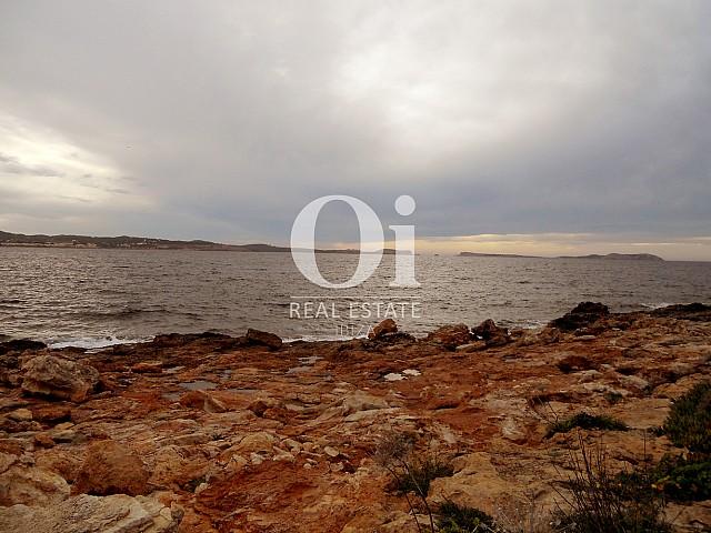 Blick auf die Bucht vom Apartment zu verkaufen in Cala Gració