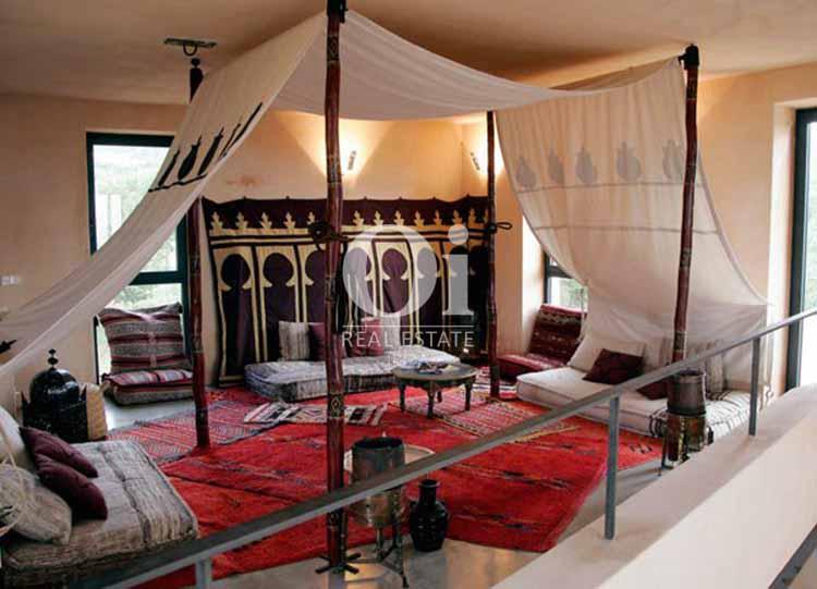 Палатка в марроканском стиле на шикарной вилле класса люкс на Ибице