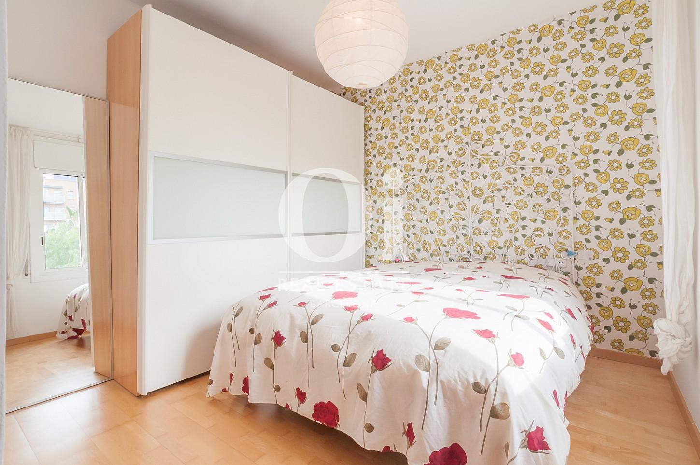 Dormitorio de matrimonio de piso en venta zona Poblenou, Barcelona