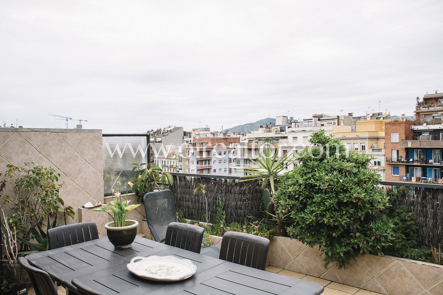 Tico en venta con vistas a ciudad eixample izquierdo - Atico eixample barcelona ...