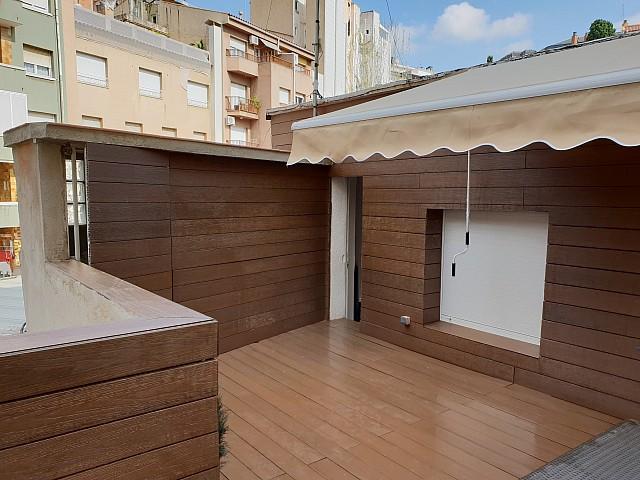 Ático en alquiler con terraza en Barcelona