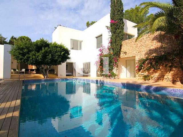 Luxury villa for rent in Es Porroig, Ibiza