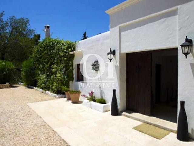 Entrée de maison en location de séjour à Santa Gertrudis, Ibiza
