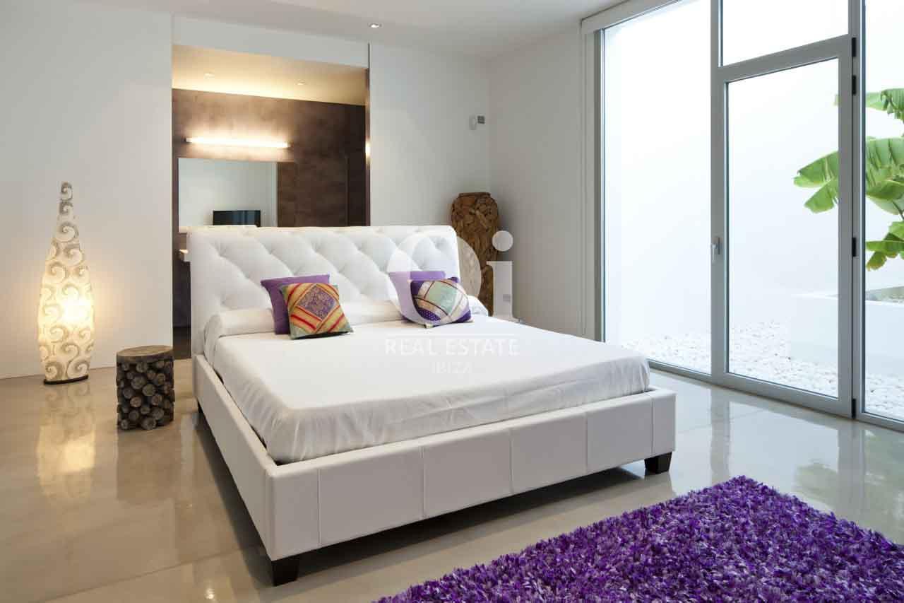Chambre double de maison en location de séjour à Es Cubells, Ibiza