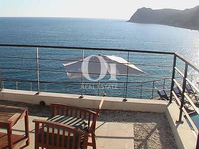Bezaubernde Aussichten vom Haus zur Miete in Es Cubells, Ibiza